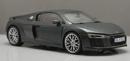 โมเดลรถ โมเดลรถเหล็ก โมเดลรถยนต์ Audi R8 V10 2017 grey 2