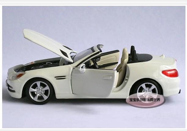 โมเดลรถ โมเดลรถยนต์ รถเหล็ก benz SLK 6