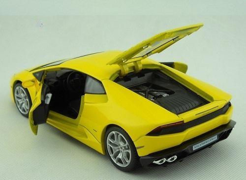 โมเดลรถ โมเดลรถยนต์ รถเหล็ก Lamborghini huracan LP610-4 8
