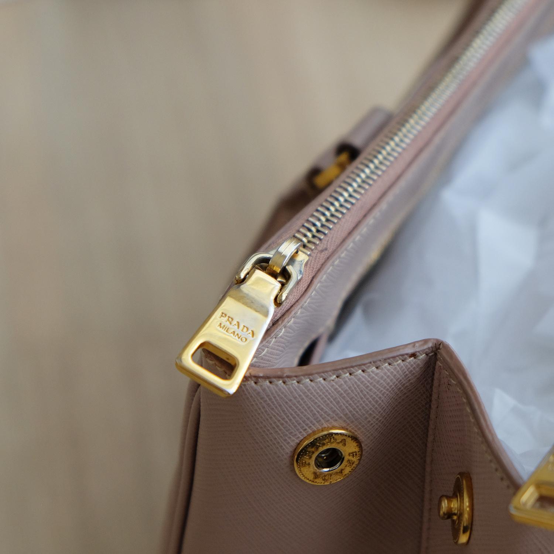 a80c1460e410 Prada Cameo Saffiano Lux Tote 35 / 2 Zipper - BrandBeSure : Inspired by  LnwShop.com