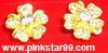 E05 ต่างหู รูปดอกไม้ (ขายแล้วค่ะจากที่เดิม Pinkstar99.weloveshopping)
