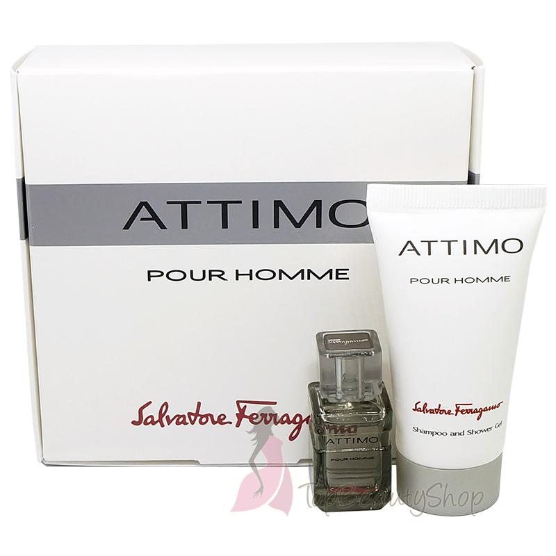 Salvatore Ferragamo ATTIMO Pour Homme Gift Set