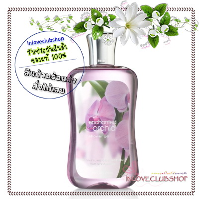Bath & Body Works / Shower Gel 295 ml. (Enchanted Orchid) *Exclusive