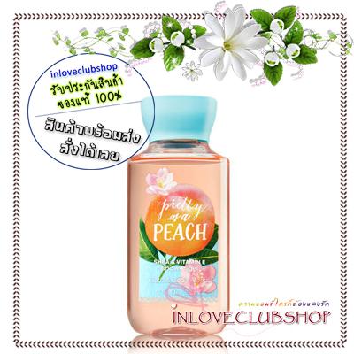 Bath & Body Works / Travel Size Shower Gel 88 ml. (Pretty as a Peach)