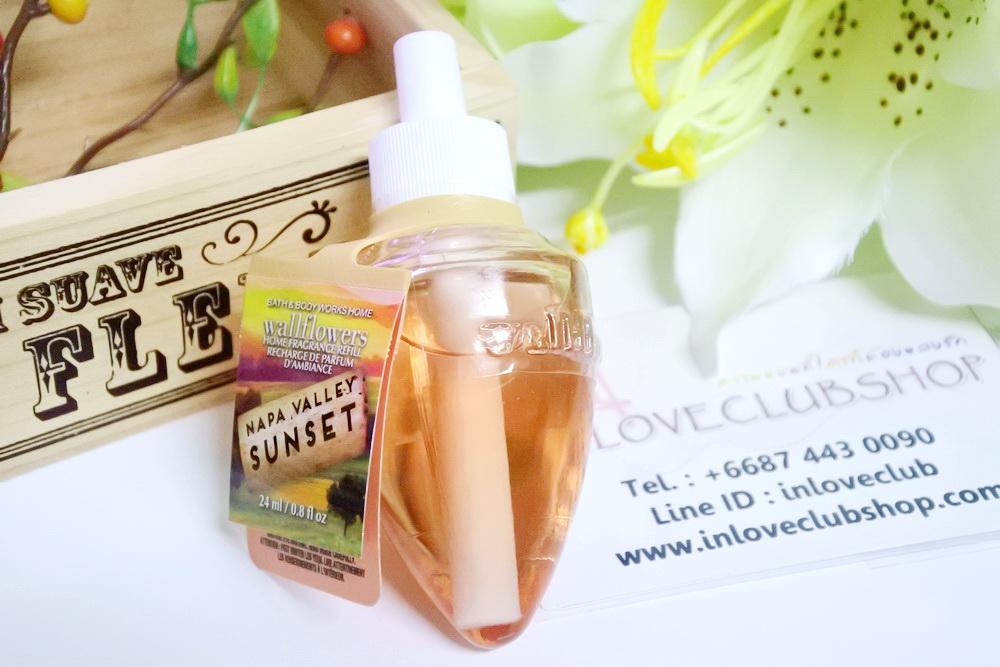 Bath & Body Works / Wallflowers Fragrance Refill 24 ml. (Napa Valley Sunset)