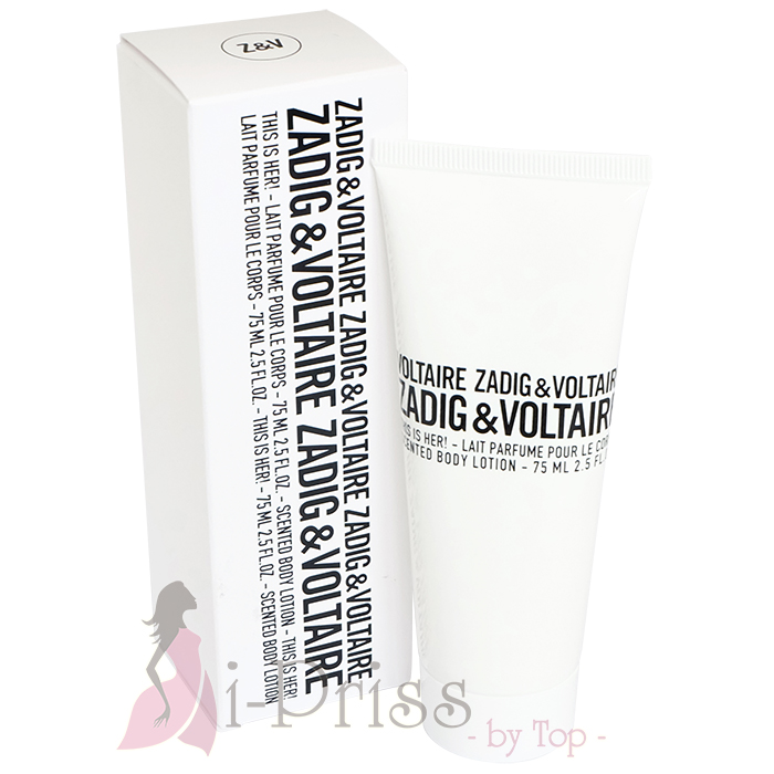 ZADIG & VOLTAIRE This is Her! Body Lotion 75 ml.