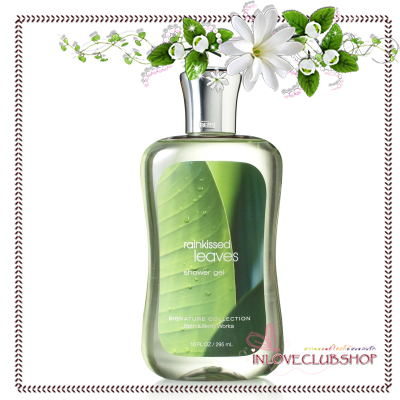 Bath & Body Works / Shower Gel 295 ml. (Rainkissed Leaves) *Exclusive