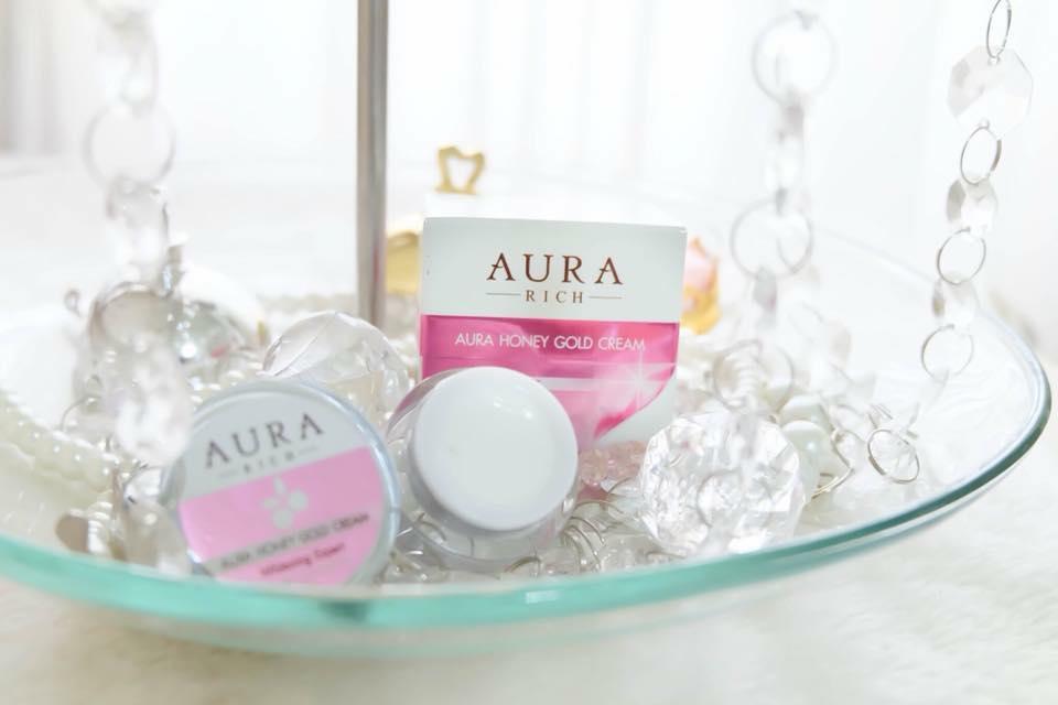 Aura Honey Gold Cream By Aura Rich ครีมบำรุงน้ำผึ้งทองคำ
