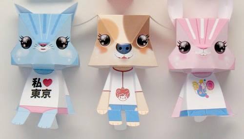 แมว หมา กระต่าย 3 ตัว