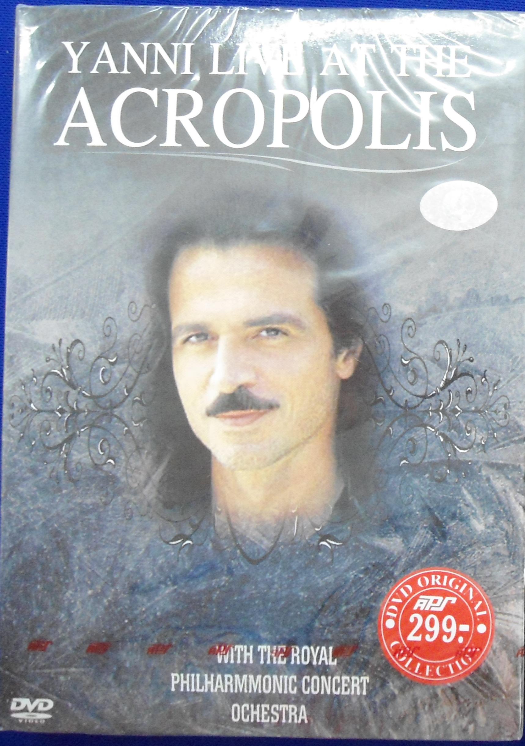 DVD Concert Yanni live at the acropolis