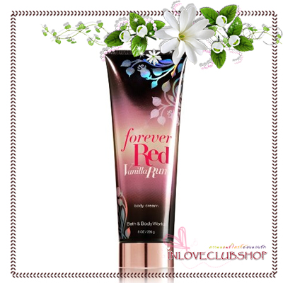 Bath & Body Works / The Forever Collection Body Cream 226 ml. (Forever Red Vanilla Rum) *Discontinued
