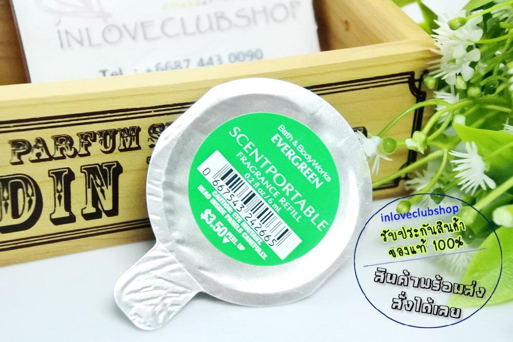Bath & Body Works - Slatkin & Co / Scentportable Refill 6 ml. (Evergreen)