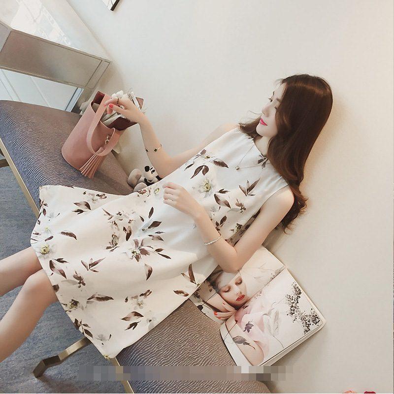 **สินค้าหมด Dress4040 ชุดเดรสทรงปล่อยลายดอกไม้สีพื้นขาว ซิปหลังใส่ง่าย มีซับในอย่างดีทั้งชุด ผ้าชีฟองเนื้อดีเกรดพรีเมียมมีน้ำหนักทิ้งตัวสวย งานดีผ้าสวยเกินราคา สวยจบในชุดเดียว ใส่ได้บ่อยหลายโอกาส