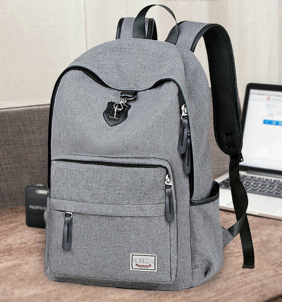 กระเป๋าเป้สะพายหลัง USB เสียบ