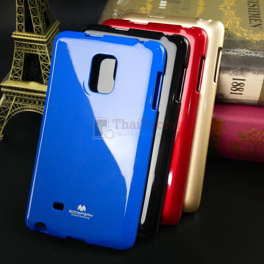 เคส Samsung Galaxy Note Edge ของแท้ 100% รุ่น Jelly Mercury ครอบหลัง