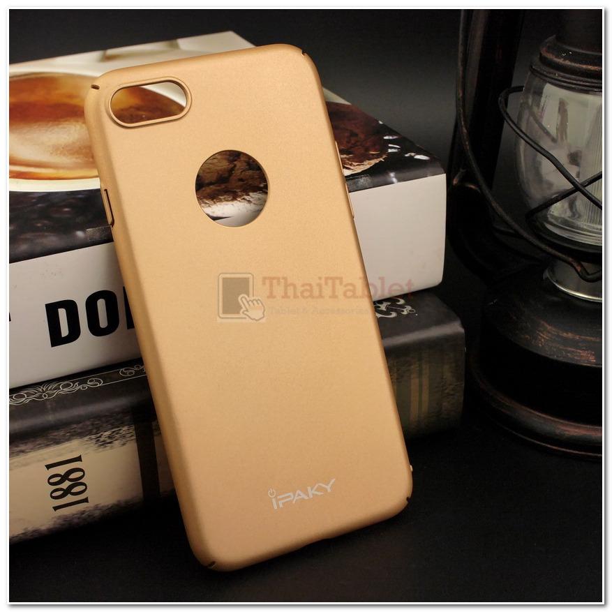 iPAKY เคสครอบหลัง สำหรับ iPhone 7 สีทอง