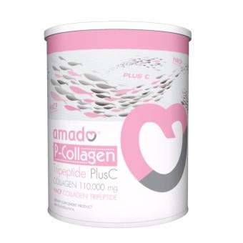 Amado P-Collagen TriPeptide Plus C ขนาดกระปุก 100.6 กรัม