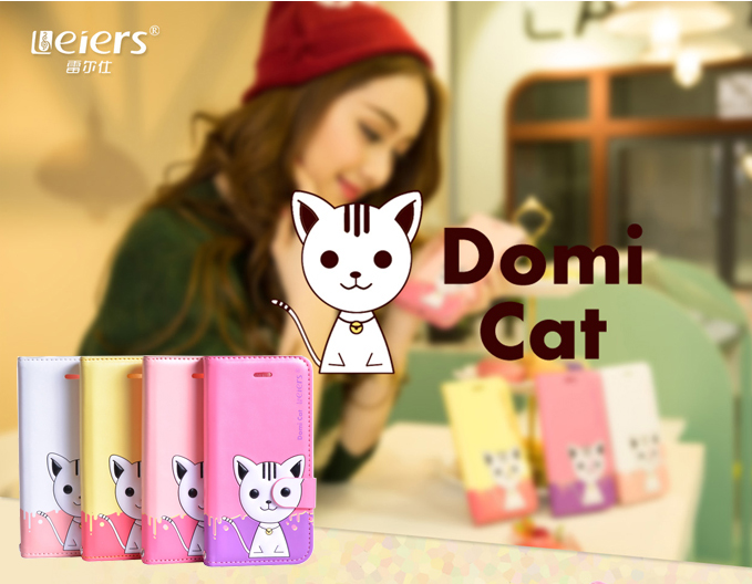 เคส Samsung Galaxy Grand 2 รุ่น Domi Cat 3D