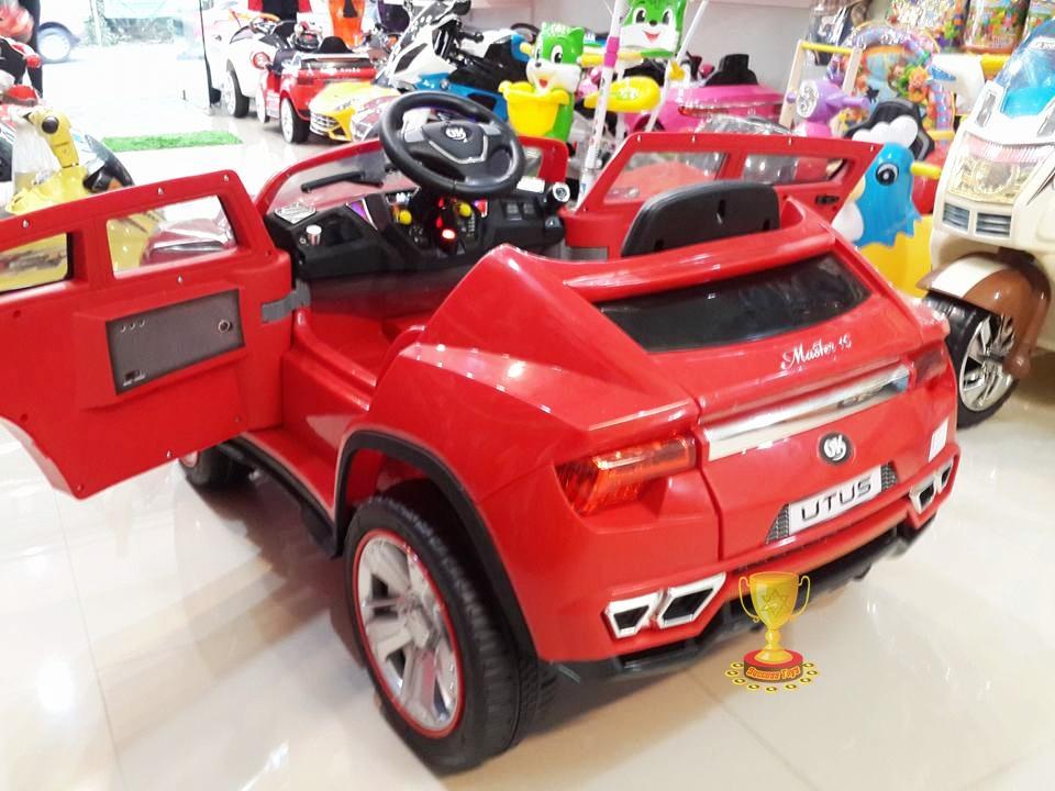 รถแบตเตอรี่เด็กนั่งไฟฟ้า JJ288 ยี่ห้อ JUKE2m มี3สี แดง ดำ ขาว