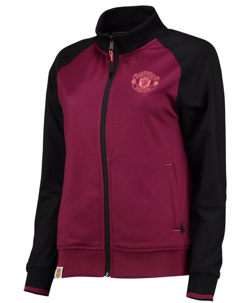 เสื้อแจ็คเก็ตผู้หญิงแมนเชสเตอร์ ยูไนเต็ด แบบฟูลซิป