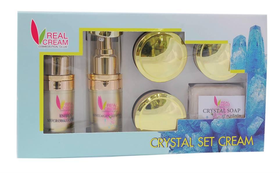 เรียวครีม คริสตัลเซ็ต Crystal Set 15 กรัม