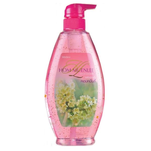 Mistine Hom Muenlee Serum Shower มิสทีน เซรั่มอาบน้ำ มิสทีน หอมหมื่นลี้ การรังสรรค์จากดอกไม้ที่ได้ขึ้นชื่อว่าหอมไกลนับหมื่นลี้