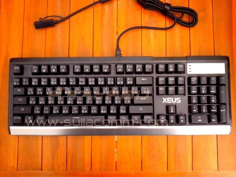"USB Multi Keyboard ""NUBWO"" (X5) XEUS (Blue Switch Mechanical) RGB"