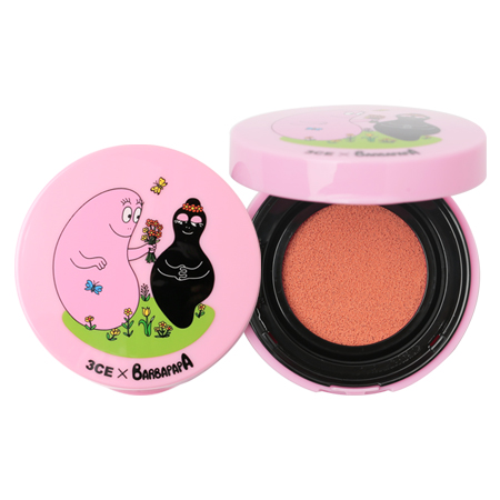 3CE BARBAPAPA BLUSH CUSHION #PEACH