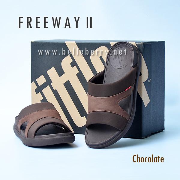 **พร้อมส่ง** FitFlop FREEWAY II : Chocolate : Size US 11 / EU 44