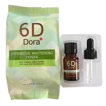 6D Dora+ โทนเนอร์สลายฝ้า กระ สูตร อ่อนละมุน