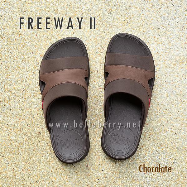 **พร้อมส่ง** FitFlop FREEWAY II : Chocolate : Size US 10 / EU 43