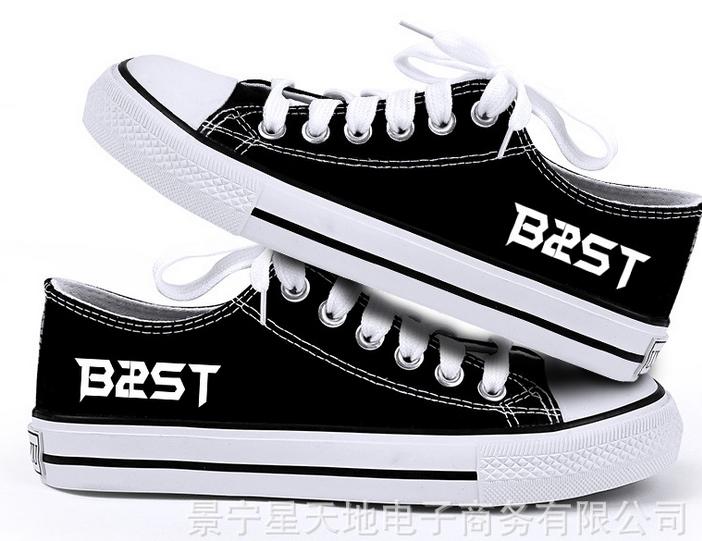 รองเท้าผ้าใบ ศิลปิน B2ST