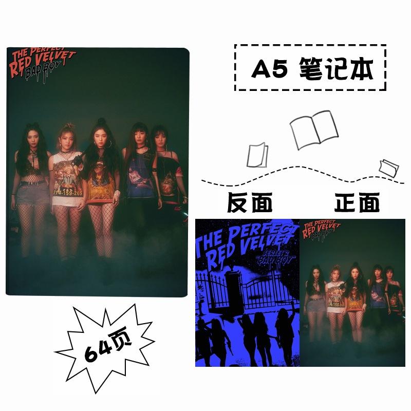 สมุดโน๊ต ขนาด A5 - Red Velvet