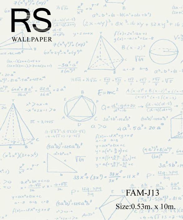 วอลเปเปอร์ลายตัวหนังสือ FAM-J13