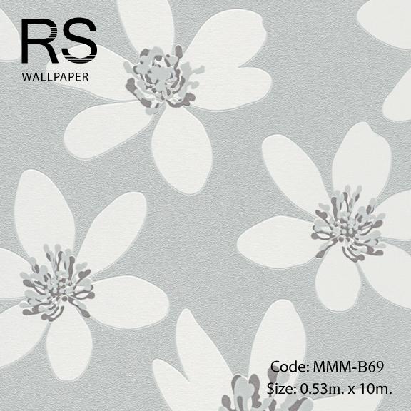 วอลเปเปอร์ลายดอกไม้ MMM-B69