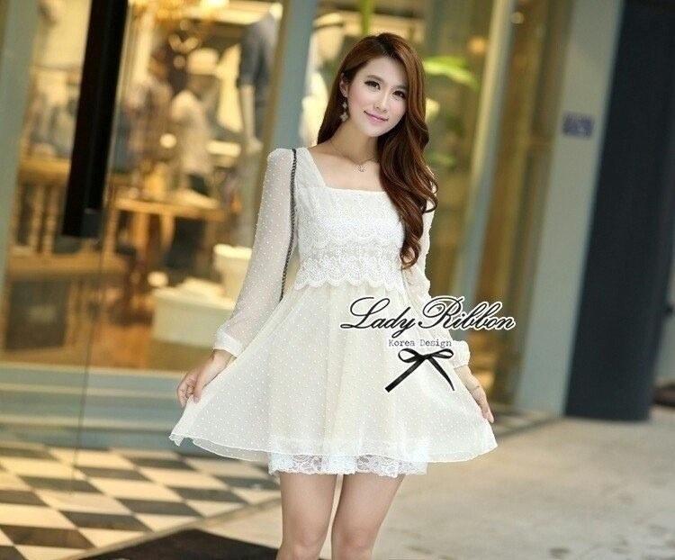 Lady Ribbon's Made Lady Lolita Lace Mini dress