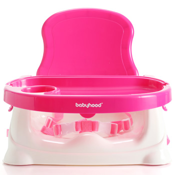 เก้าอี้นั่งทานข้าวเด็ก Babyhood (Babyhood Smart Booster Seat) สีชมพู