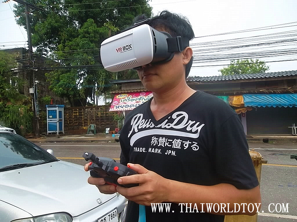 CT1000+VR BOX fpv racing drone