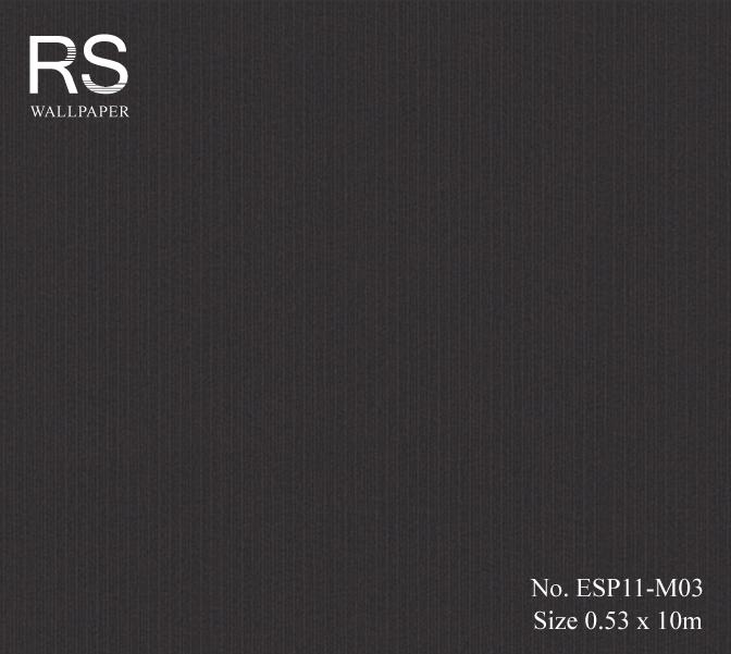 วอลเปเปอร์ สีดำ ESP11-M03
