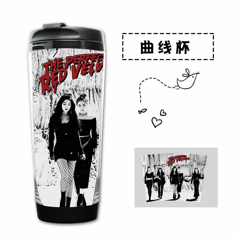 แก้วน้ำเก็บความเย็น - Red Velvet