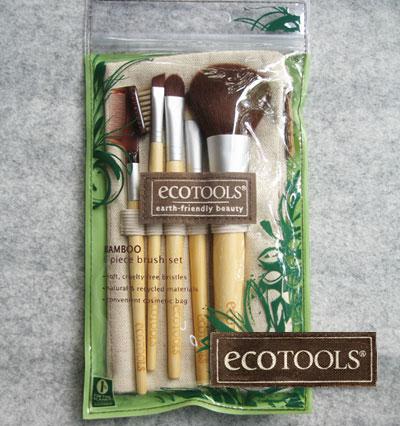 EcoTools, Bamboo 6 Piece Brush Set set แปรงแต่งหน้า