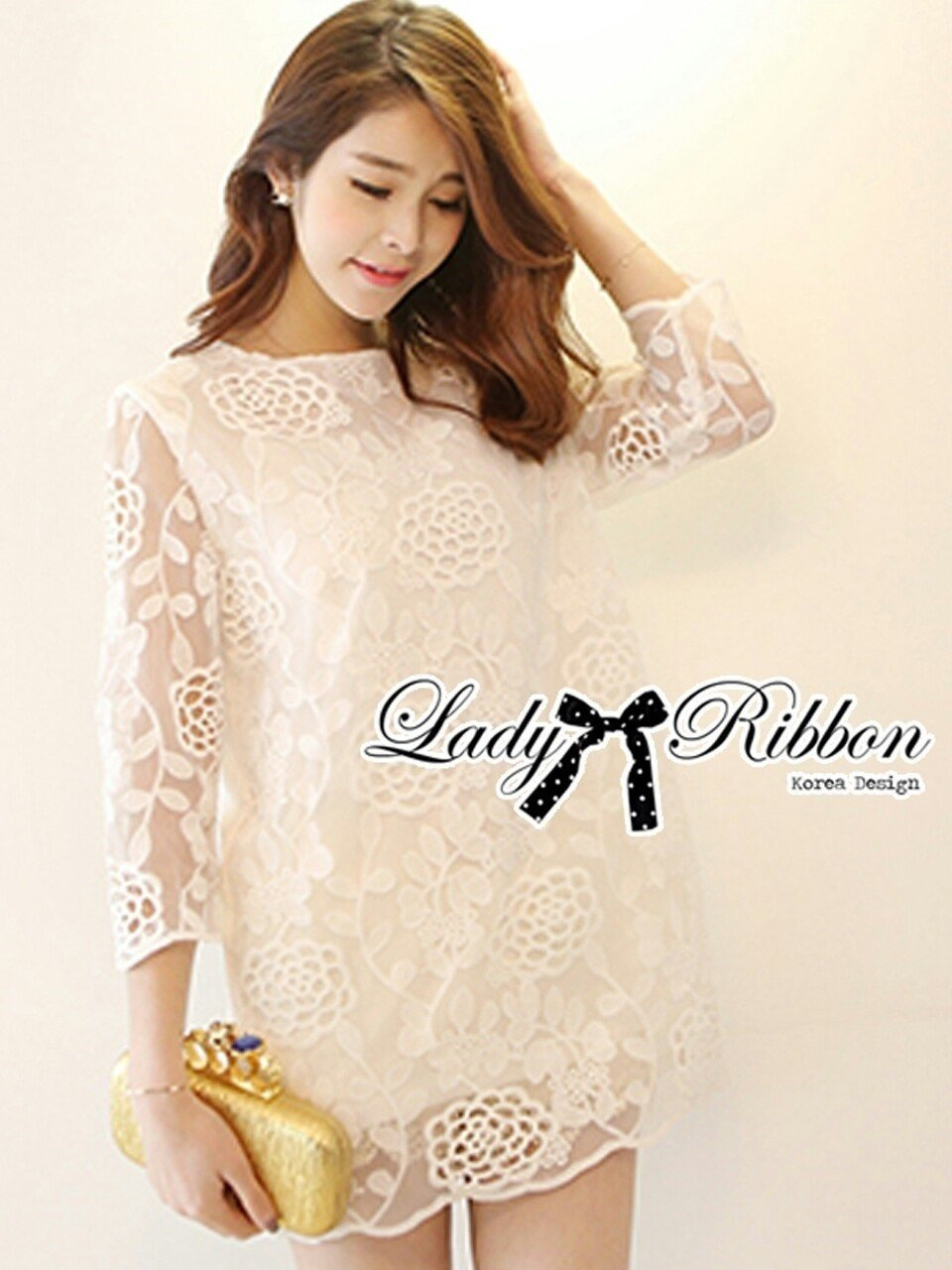 Proud to Present Lady RibbonForever Hit item Lady Ribbon's Made 㾔ϠLady Melanie Elegant Camelia White Organza Dress