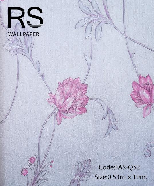 วอลเปเปอร์ลายดอกไม้ FAS-Q52