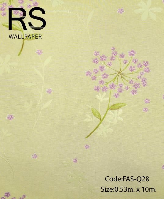 วอลเปเปอร์ลายดอกไม้ FAS-Q28