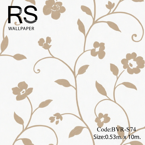 วอลเปเปอร์ลายดอกไม้ BVR-S74