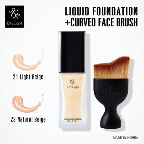 EITY EIGHT LIQUID FOUNDATION SPF 30 PA+++รองพื้น+แปลง