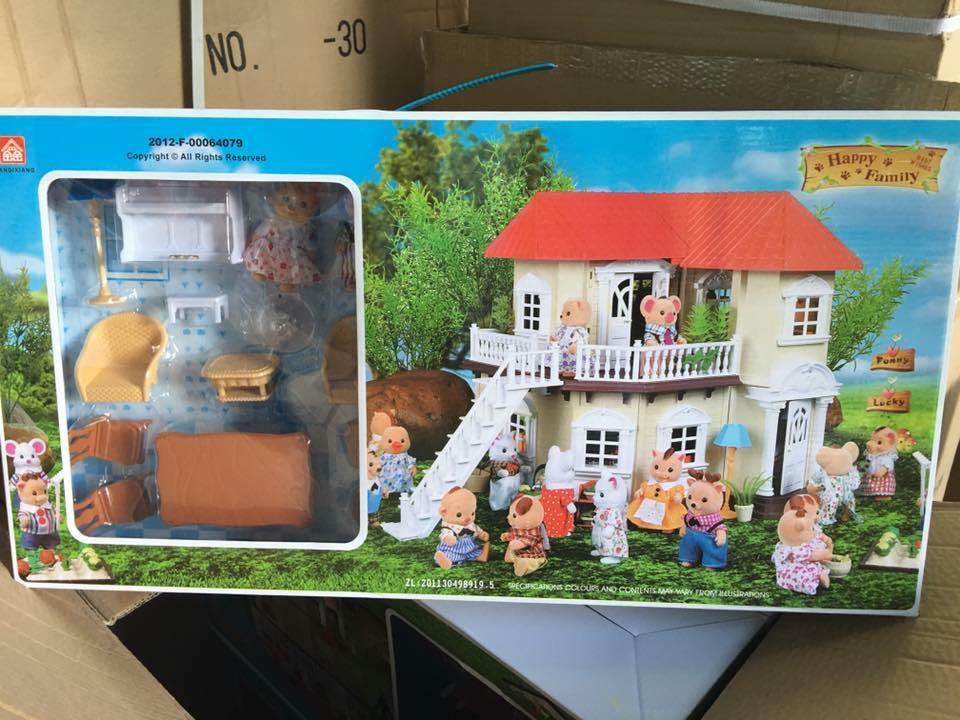บ้านตุ๊กตากระต่าย หมี น่ารักมากมาย