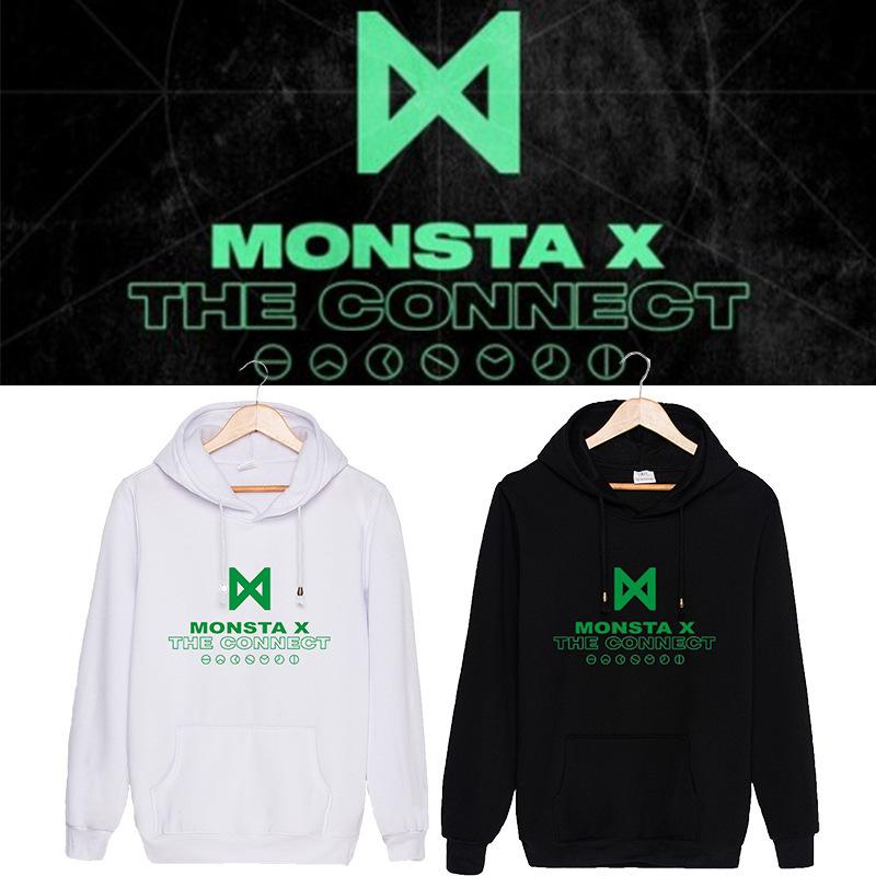 เสื้อแขนยาวมีฮู้ด MONSTA X - The Connect