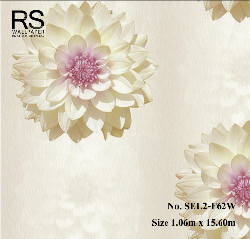 วอลเปเปอร์ลายดอกไม้ SEL2-F62W