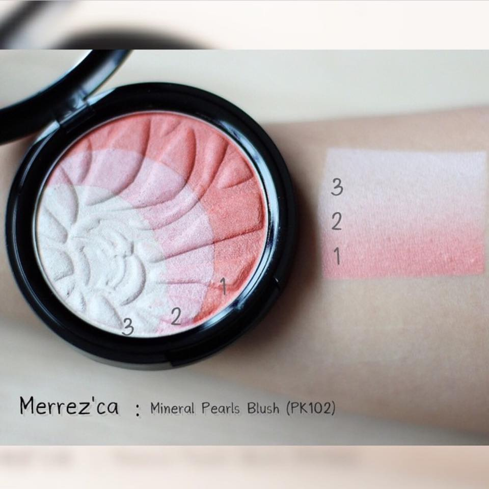 Merrez'ca Mineral Pearls Blush(บลัชออนเมอร์เรซกา